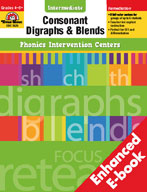 Phonics Intervention Centers: Consonant Digraphs and Blend
