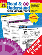 Read and Understand with Leveled Texts: Grade 3 (Enhanced eBook)