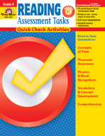 Reading Assessment Tasks: Quick Check Activities, Grade K