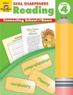 Skill Sharpeners Reading, Grade 4 (Enhanced eBook)
