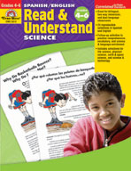 Spanish/English Read & Understand, Science, Grades 4-6 (En