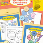 Take It to Your Seat Phonics Centers, Level B, Grades K,1