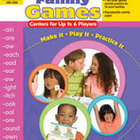 Word Family Games: Centers for Up to 6 Players (Enhanced eBook)