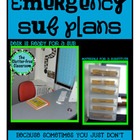EMERGENCY SUB PLANS for ELEMENTARY TEACHERS
