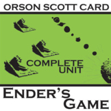 ENDER'S GAME Unit Teaching Package (by Orson Scott Card)