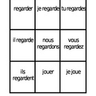 ER verbs in French present tense Spoons game / Uno game