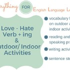 ESL ELementary Like-Love-Hate Practice