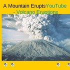 ESL LESSON: A Mountain Erupts (Volcanos) Powerpoint