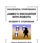 ESL STORYBOOK:  Jambo&#039;s Encounter with Robots
