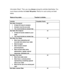 ESL United States Study final project ideas &amp; rubric