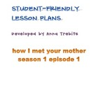 ESL television lesson &#039;how i met your mother&#039; episode 1