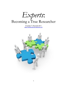 EXPERTS:  Becoming a True Researcher