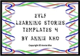 EYLF Learning Stories Template 4