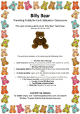 EYLF Linked 'Billy Bear' Travelling Teddy for Early Educat
