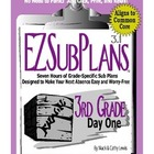 EZSubPlans: Emergency Absence Plans, Third Grade, Day 1