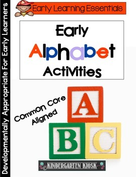 Early Alphabet Activities/Games