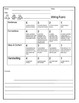 Early Childhood writing rubric