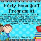 Early Emergent Beginning Phonics Program #1