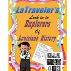 LOUISIANA - Early Explorer Era Trading Cards