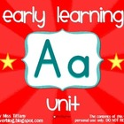 Early Learning Aa Alphabet/Letter Unit
