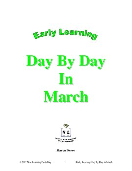 Early Learning: Day by Day in March