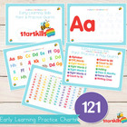 Early Learning Practice &amp; Play Charts (121 Charts)