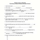 Early Man Fill-in Worksheet