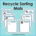 Earth Day Math Recycle Sorting Mats