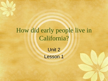 Early People of California - History and Social Studies 4.2