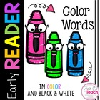 Early Reader: Color Words