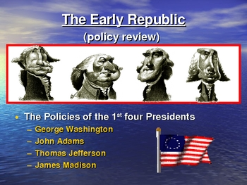 Early Republic through the War of 1812
