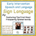 Early Signs For Speech And Language Enhancement