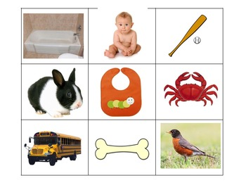 Early Sounds Articulation BINGO
