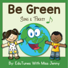 "Earth Day 55-Page Packet and Mp3 Song: ""Be Green"" / Common"