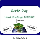 Earth Day Activity: A Word Challenge Freebie