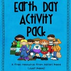 Earth Day Activity Pack FREEBIE