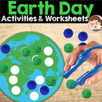 Earth Day Activity Preschool Pack
