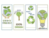 Earth Day Bookmarks (4 Styles)