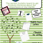 Earth Day *Bulletin Board/ Writing Activity* I care for th