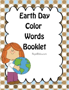 Earth Day Color Booklets