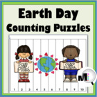 Earth Day Counting Puzzles {Common Core Aligned}