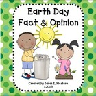 Earth Day - Fact and Opinion- Reading Game and Center