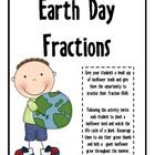 Earth Day- Fraction Story Problems