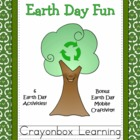 Earth Day Fun - Learning Centers - Writing Activities - Cr