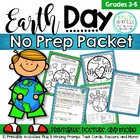 Earth Day Fun Packet and Posters Print and Go