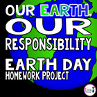 Earth Day Homework Project - FREEBIE