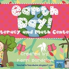 Earth Day! Literacy and Math Centers