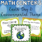 Earth Day Math Centers
