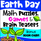 Earth Day Math Games and More