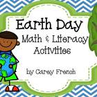 Earth Day Math &amp; Literacy Activities Common Core Aligned